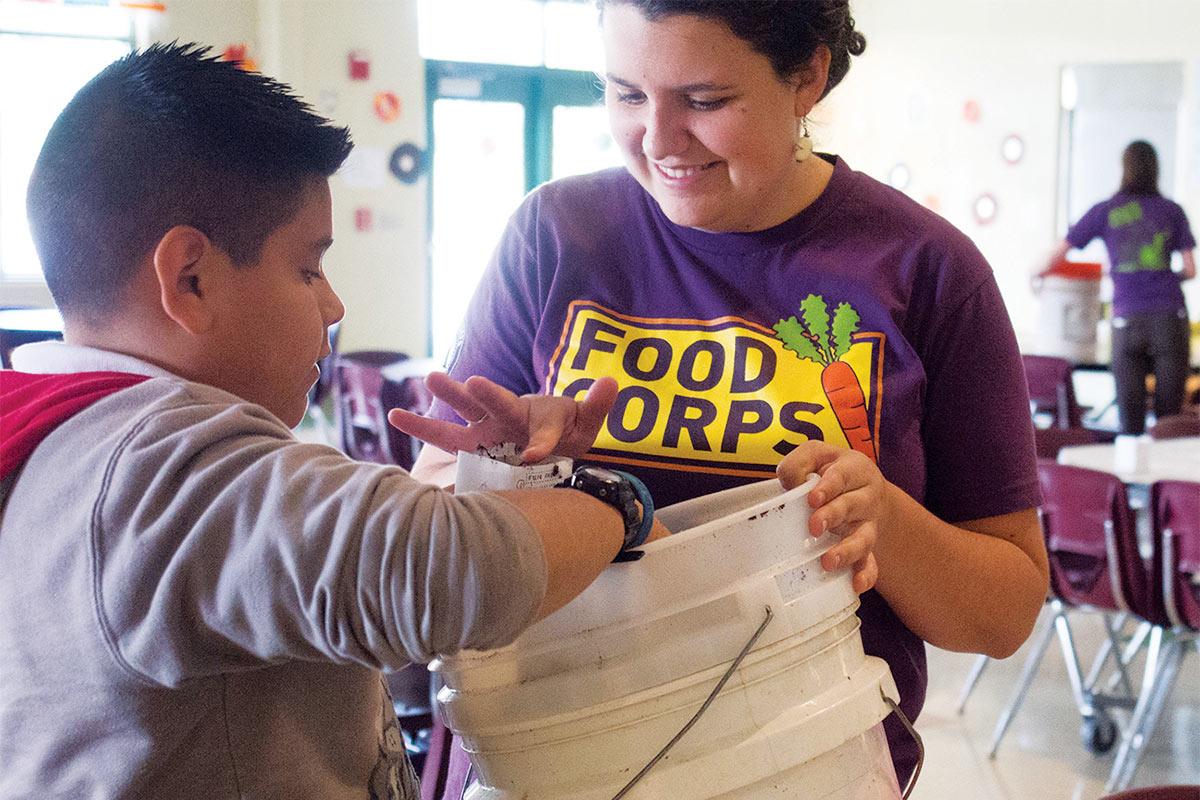 educating through sharing and making food
