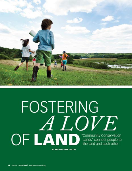 Community Lands LTA magazine Fall 2014