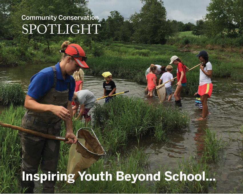 Community Conservation Spotlight Beyond School