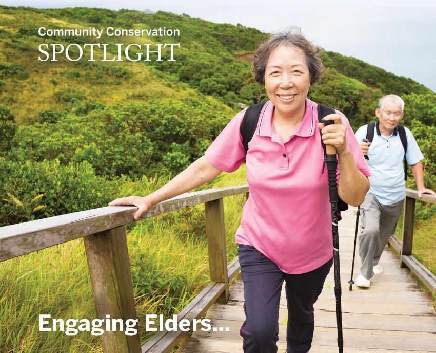Spotlight Embracing Elders