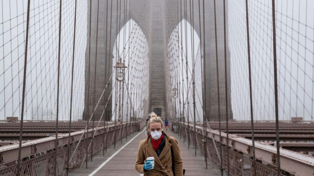 Brooklyn Bridge Covid Times