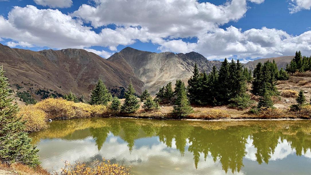 Colorado Mountain Lake Scene