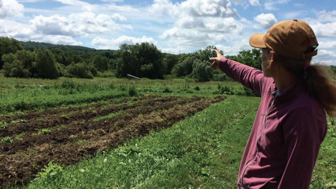 Farmer Pointing