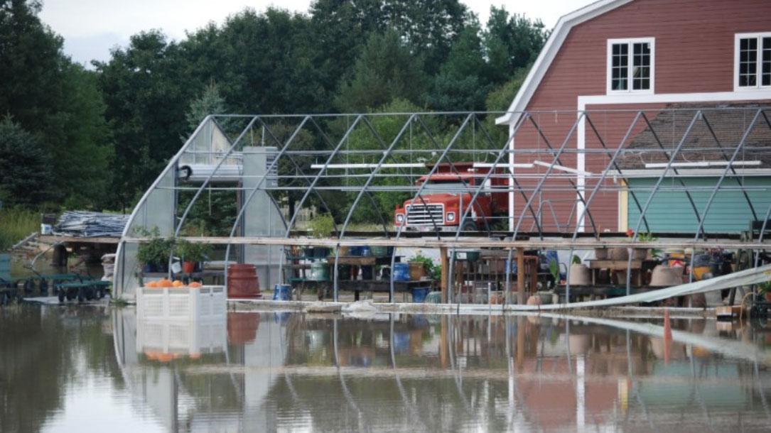 Flooding Around Barn