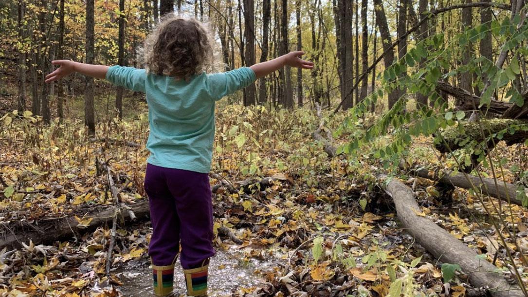 Grateful Little Girl