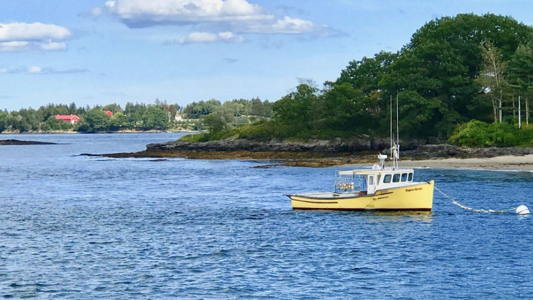 Maine Fishing Boat