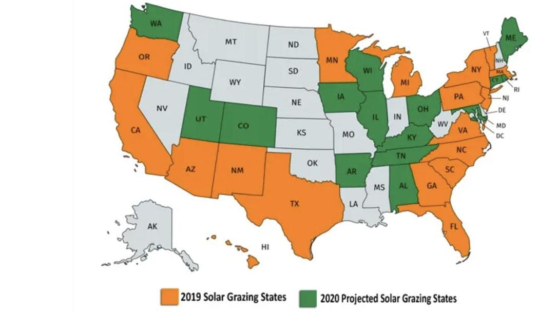 Solar Grazing Map