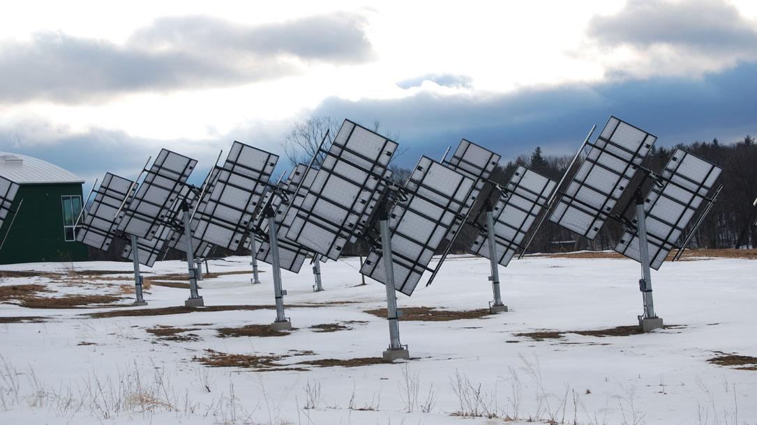 Solar In Winter