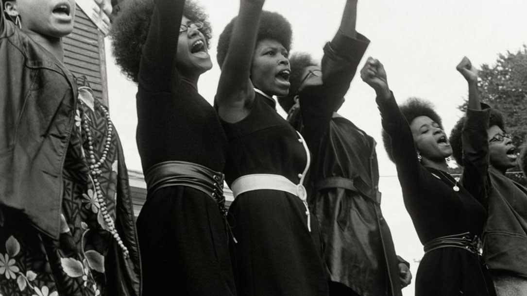 Strong Black Women Protesting