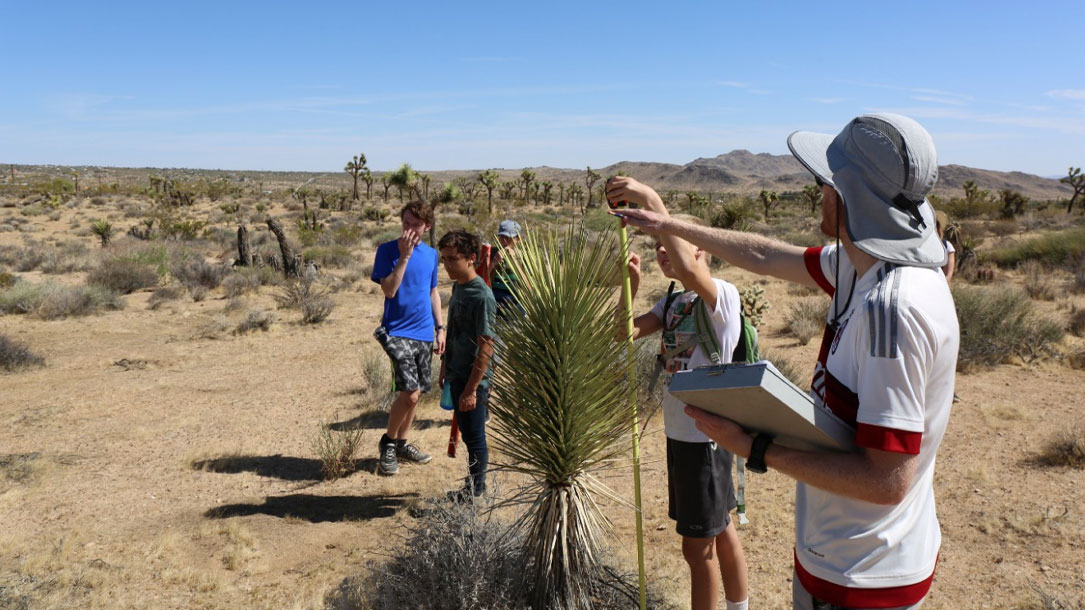 Students In Mohave Desert